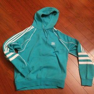NWOT Adidas Turquoise Hoodie